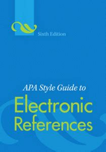 How to Make a Reference Page in APA Format on Microsoft